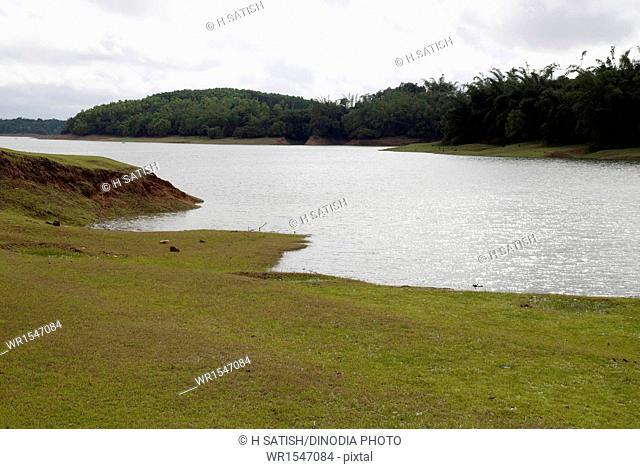 Sharavati Back water in shimoga at Karnataka India Asia