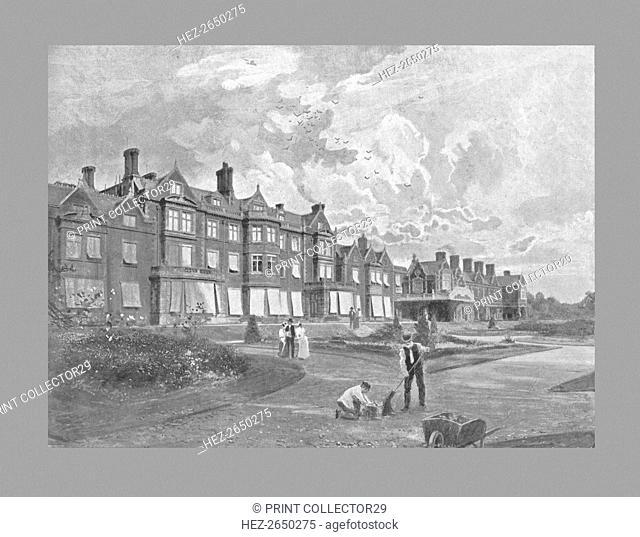 Sandringham House, c1900. Artist: T Smith & Sons