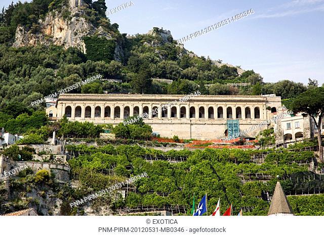 Building on a hill, Marina Grande, Amalfi, Province of Salerno, Campania, Italy