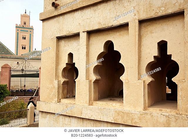 Qoubba almoravide, Ali Ben Youssef Mosque , Marrakech, Marruecos