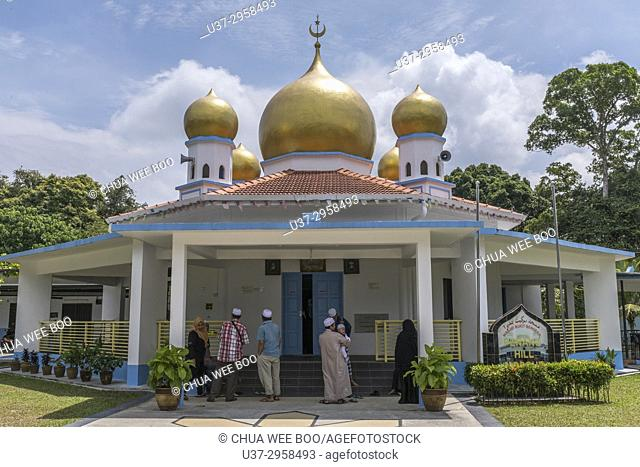 Mosque in Penang Hill, Penang, Malaysia, Asia