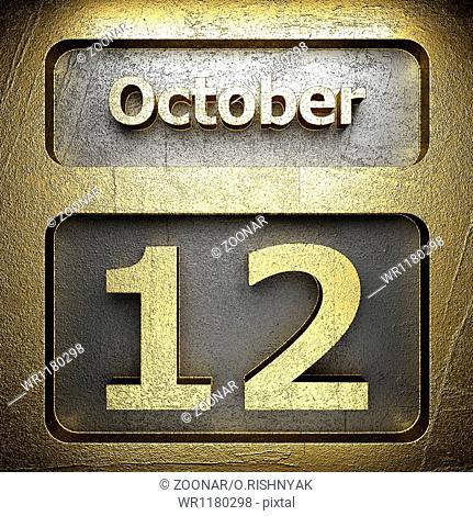 october 12 golden sign