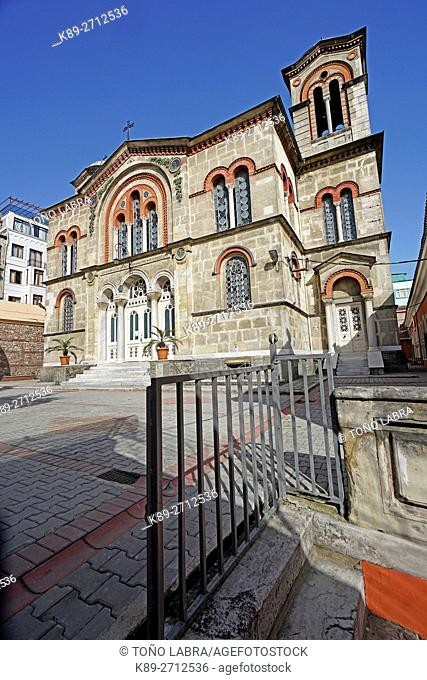 Church of St. Kyriaki. Kadirga neighborhood. Istanbul. Turkey