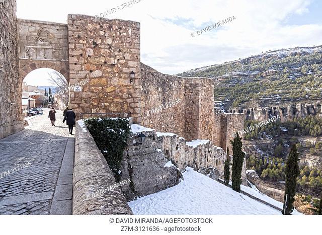 Castillo y muralla de Cuenca. Castilla la Mancha, Spain