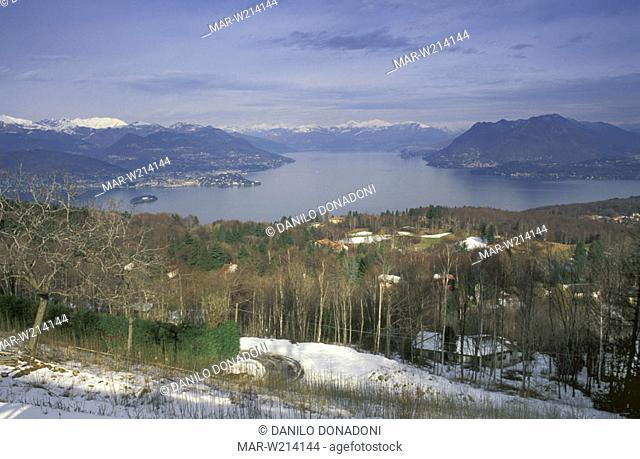 lake view, stresa, italy