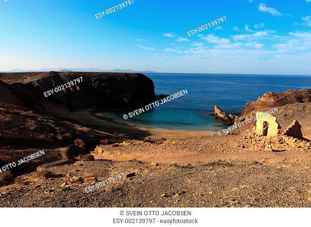 Playa El Papagayo, Lanzarote