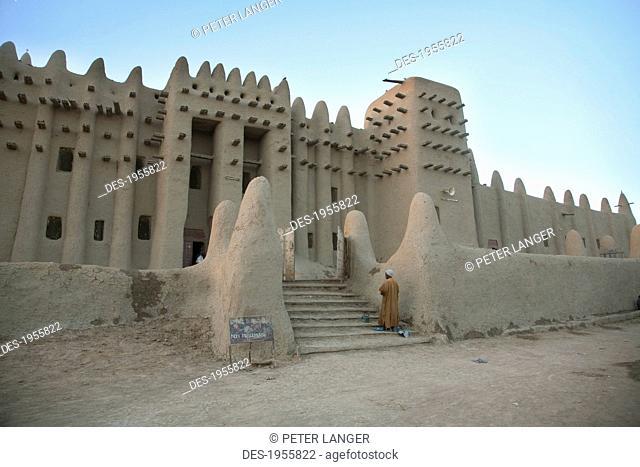 Grand Mosque At Djenne, Mali