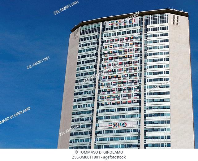 Italy, Lombardy, Milan, Building Gio Ponti