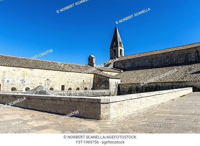 Europe, France, Var, Le Thoronet, Cistercian Abbey