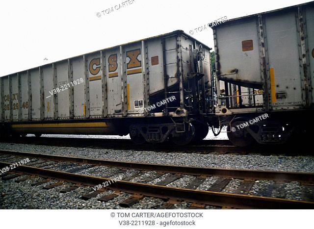 CSX freight rail cars