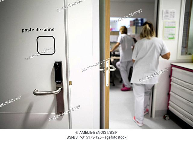 Reportage in the pediatric emergency unit in a hospital in Haute-Savoie, France