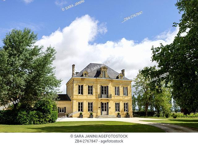 Chateau Teyssier, St. Emilion, Aquitaine, France, Europe