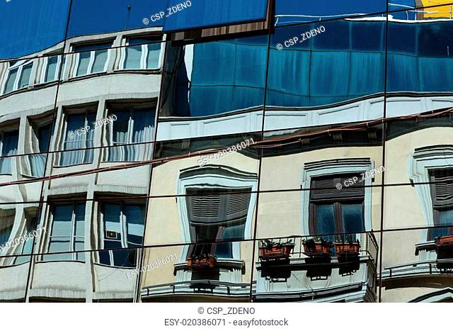 Modern architecture on Istiklal Caddesi - Istanbul