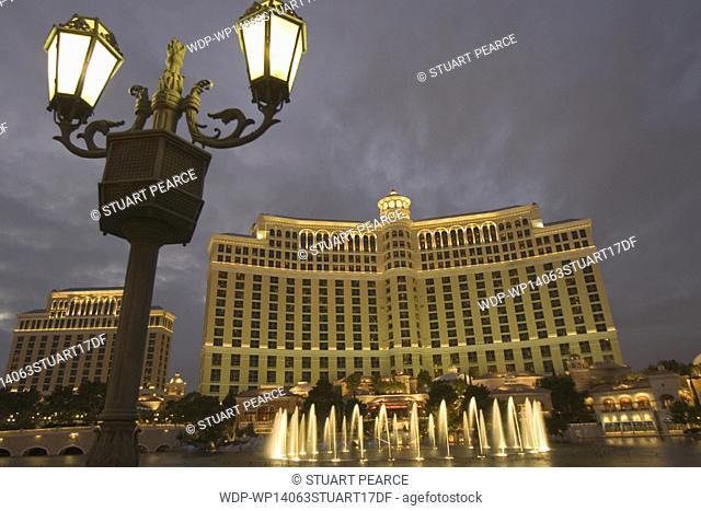 Bellagio Hotel, Las Vegas, Nevada, United States