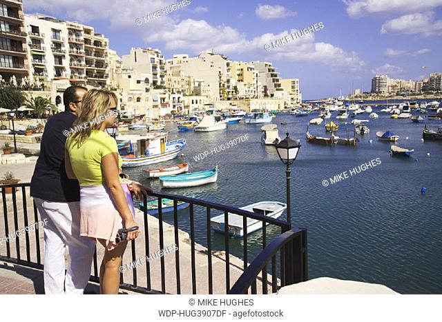 Spinola Bay, St Julian's, Malta