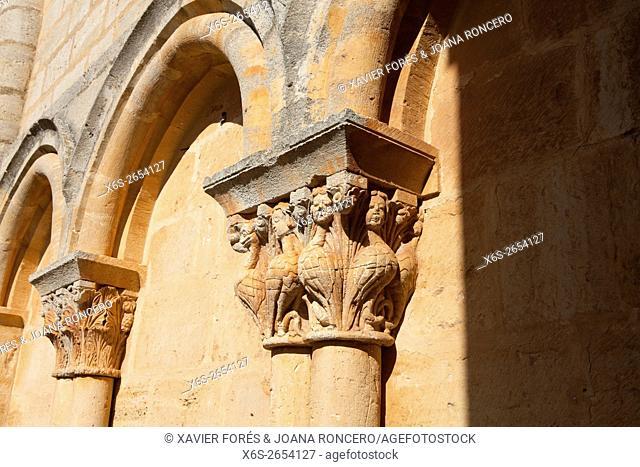 San Esteban church in Moradillo de Sedano village, Paramos region, Burgos, Spain