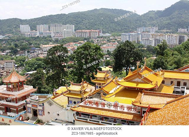 Complex of Kek Lok Si Temple, Penang, Malaysia