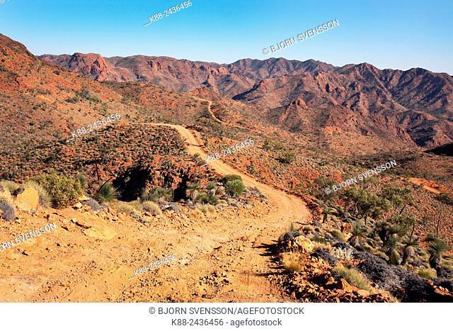 Outback scenery. Arkaroola, Flinders Ranges, South Australia
