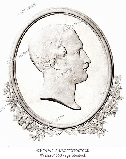 Albert, Prince Consort of Great Britain and Ireland, original name Francis Albert Augustus Charles Emmanuel, Prince of Saxe-Coburg-Gotha