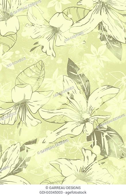 Hibiscus flower design