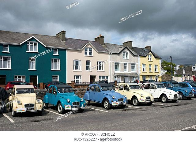 Cars, Citroen, Dingle, Dingle Peninsula, Ireland