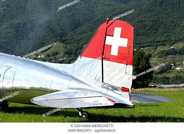 swissair, airshow cielo aperto, locarno, switzerland