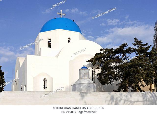 Church of Firostefani, Santorini, Greece
