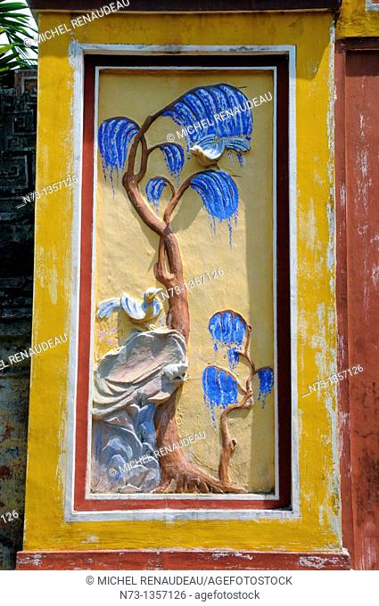 Vietnam, Thua Thien Hue, Hue classified World Heritage by UNESCO, an imperial city