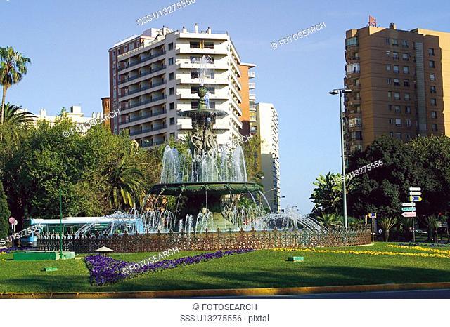 Spain, Andalucia, Andalusia, Malaga, Town, City, Street