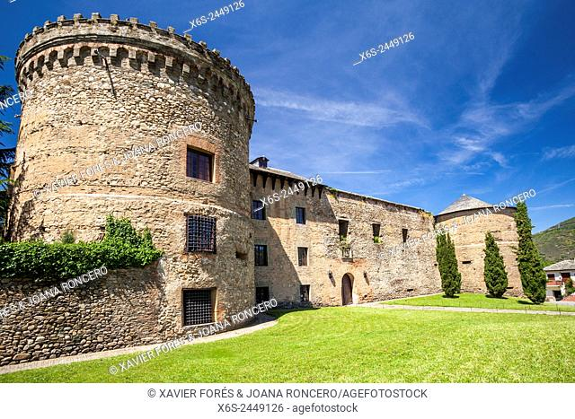 Castle of Villafranca del Bierzo, Way of St. James, Leon, Spain