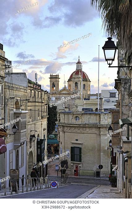 Victoria (Rabat), Gozo Island, Malta, Mediterranean Sea, Southern Europe