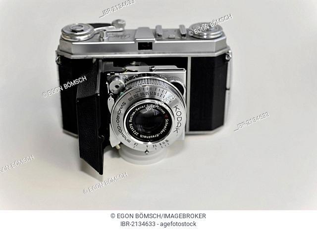 Kodak Retina Ia, analogue or film compact folding camera with Retina-Xenar F2.8, 50mm lens, built from 1951-1954