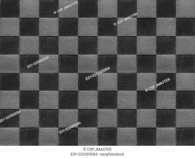 Black textile square texture