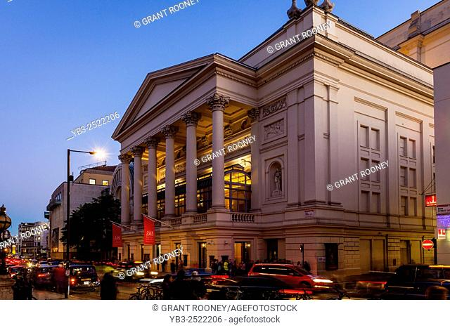 The Royal Opera House, Covent Garden, London, UK