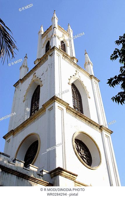 ST. Thomas cathedral built in 1715 to 1719 , Bombay Mumbai , Maharashtra , India