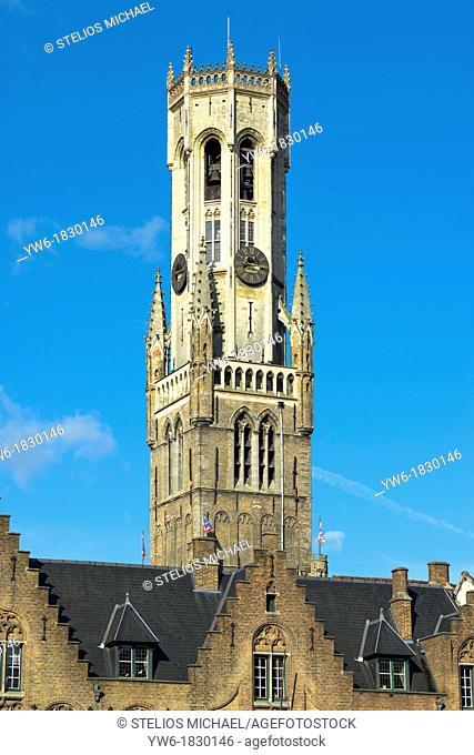 Belfry,Bruges,Belgium