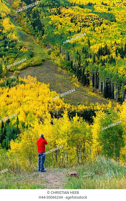 North America, American, USA, Rocky Mountains, Colorado,Aspen, White River National Forest, Maroon Bells Scenic Area