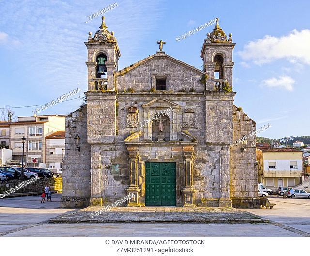 Iglesia de Santa Liberata. Bayona. Pontevedra. Galicia. España