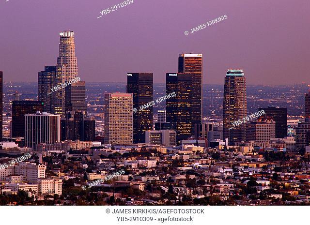 Dusk on LA