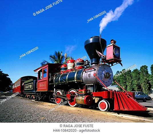 USA, America, United States, North America, Hawaii State, Maui Island, Lahaina City, Sugar Cane Train, October 2007, L
