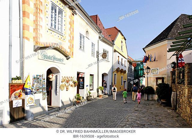 Main street, Duernstein, Wachau, Lower Austria, Europe