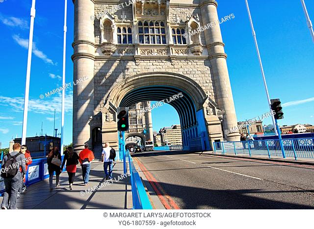 Tower Bridge, London, Summertime