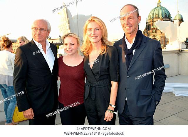 """Opening reception of """"""""Ufa-Filmnächte"""""""" at Bertelsmann-Repräsentanz in Berlin Featuring: Wolf Bauer, Sophie von der Leyen, Maria Furtwaengler"""
