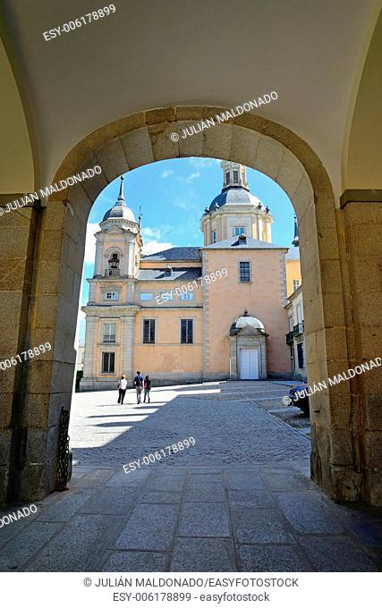 Royal Palace of La Granja de San Ildefonso, Segovia, Castilla Leon, Spain