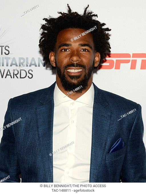 Mike Conley Jr. attends the 3rd Annual Sports Humanitarian of the Year Awards at LA LIVE'S The Novo in Los Angeles on July 11, 2017