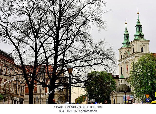 "Chapel """"Kosciol"""" Sw. Floriana, Krakow, Poland"