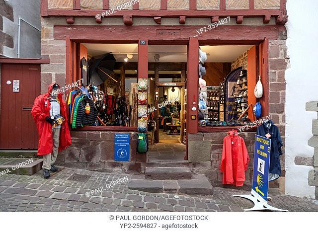 La Boutique du Pèlerin in Saint-Jean-Pied-de-Port - Pyrénées-Atlantiques, Aquitaine, France