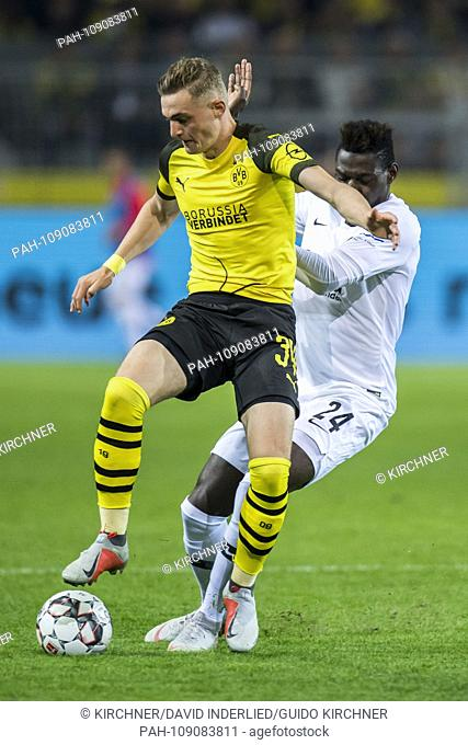 Football: 1st Bundesliga, season 2018/2019, 3rd matchday, Borussia Dortmund - Eintracht Frankfurt on 14.09.2018 at the Signal Iduna Park in Dortmund (North...