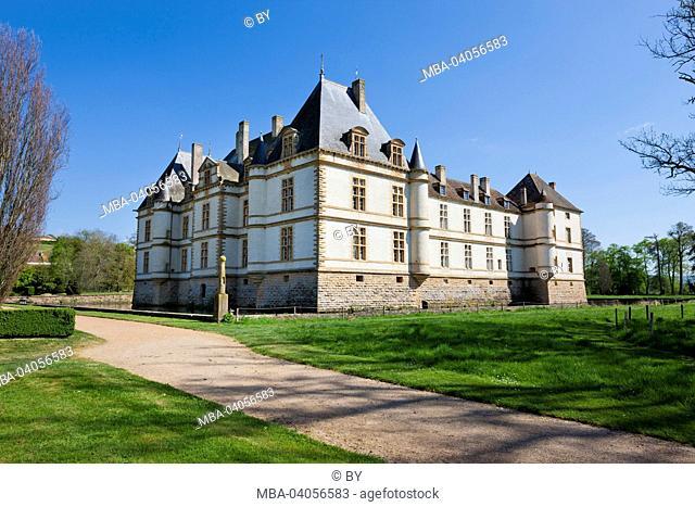 Château de Cormatin, north west view, France