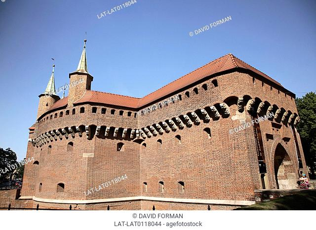 The city is a UNESCO world heritage site and the heart of the old town is a medieval walled and fortified city. Wawel castle is on the hilltop above the city